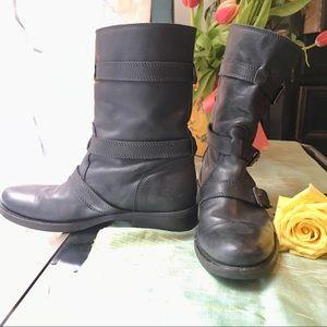 J. Crew Buckle Boots 7.5